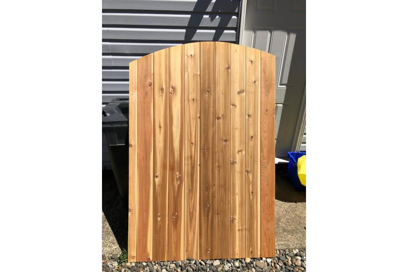 Cedar Curve Top Gates